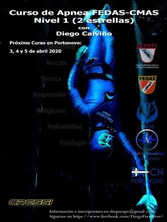 CURSO DE APNEA FEDAS CMAS