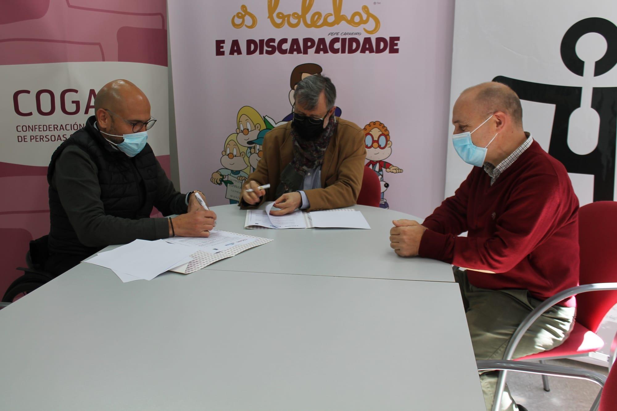 COGAMI y ASNAUGA a favor de la participación en actividades náuticas de las personas con discapacidad