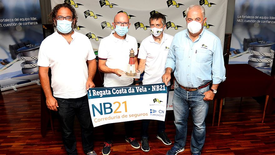 El Liceo de Bouzas alumbra un nuevo evento deportivo para la vela gallega de crucero